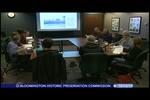 Bloomington Historic Preservation Commission 10/12