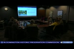 Bloomington Historic Preservation Commission 11/9