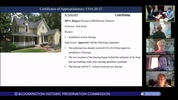Bloomington Historic Preservation Commission 9/10