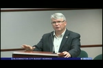 Bloomington City Budget Hearings 8/14