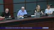 Bloomington Board of Park Commissioners 9/18