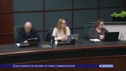 Bloomington Board of Park Commissioners 1/22