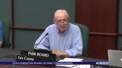 Bloomington Board of Park Commissioners 8/20