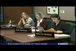 Bloomington Board of Public Works 3/21