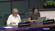 Bloomington Board of Public Works 5/29