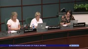 Bloomington Board of Public Works 9/4