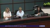 Bloomington Board of Public Works 10/30