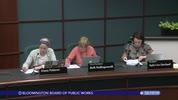 Bloomington Board of Public Works 3/19