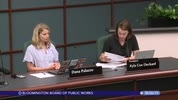 Bloomington Board of Public Works 8/6