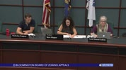 Bloomington Board of Zoning Appeals 7/19