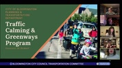 Bloomington City Council Transportation Committee 10/7