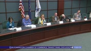 Bloomington Chamber of Commerce Transit Panel Discussion 11/1