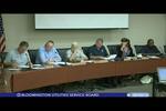 Bloomington Utilities Service Board 8/8