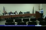 Bloomington Utilities Service Board 12/27