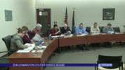 Bloomington Utilities Service Board 11/13