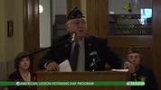 American Legion Veterans Day Program 11/11