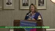 Bloomington Rotary Tuesday Luncheon 5/24