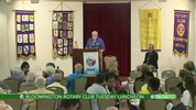 Bloomington Rotary Tuesday Luncheon 8/8