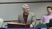 Urban Land Institute presentation on Old Hospital Site 4/13