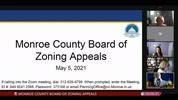 Monroe County Board of Zoning Appeals 5/5