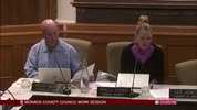 Monroe County Council Work Session 11/27