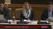 Monroe County Council Work Session 3/26
