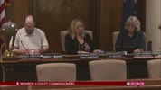 Monroe County Commissioners 7/18