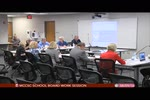 MCCSC School Board Work Session 8/9
