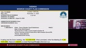 Monroe County Plan Commission 11/17