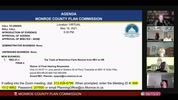 Monroe County Plan Commission 6/15