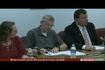 Richland Bean Blossom School Board 4/18